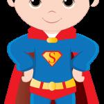super heroes clipart animado superman 333