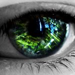 24 Abstract eye