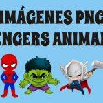 Avengers Animados PNG Vengadores