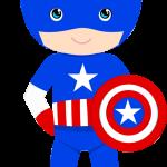 capitan america baby