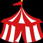 circo infantil clipart carpa infantil