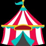 circo infantil clipart carpa1