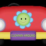 circo infantil clipart carrito