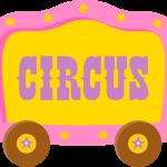 circo infantil clipart carro circus