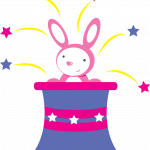 circo infantil clipart conejo