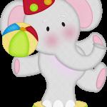 circo infantil clipart elefantito 86
