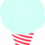 circo infantil clipart helado cono