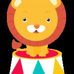 circo infantil clipart leon 155