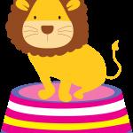 circo infantil clipart leon circus