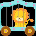 circo infantil clipart leoncito