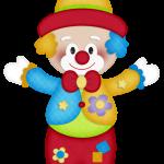 circo infantil clipart payasito feliz