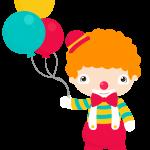 circo infantil clipart payaso 01