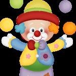 circo infantil clipart payaso 1