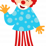circo infantil clipart payaso
