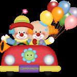 circo infantil clipart payasos 5