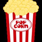 circo infantil clipart popcorn