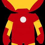 iron man caricatura