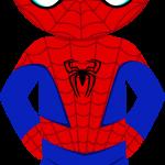 spiderman caricatura