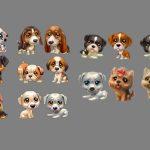 Perritos Animados 3D en Photoshop