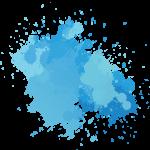 Acuarela blue watercolor