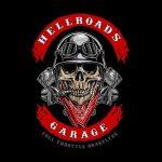 biker skull logo