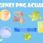Imagenes Acuarelas PNG Fondos