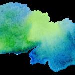 imagenes acuarela verde azul