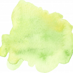 imagenes acuarela verde claro34