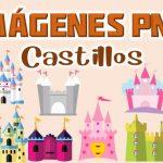 Imagenes de Castillos animados Clipart PNG transparente