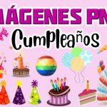 Imagenes de Torta y accesorios de cumpleaños Clipart PNG transparente