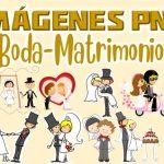 Imagenes de Novios Boda Clipart PNG transparente