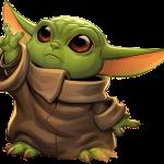 Baby Yoda Clipart