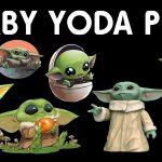 Imagenes de Baby Yoda Clipart PNG transparente