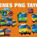 Imagenes de Tayo Bus Clipart PNG transparente