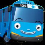 Tayo Bus Azul celeste