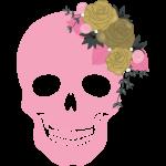 Template Pretty skulls 02