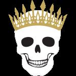 Template Pretty skulls 04