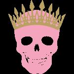 Template Pretty skulls 05