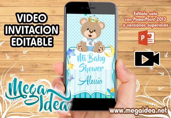 VIDEO Baby Shower Osito