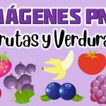 Imagenes de Frutas y Verduras PNG transparente