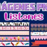 Imagenes de Listones Clipart PNG transparente