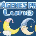 Imagenes de Luna Clipart PNG transparente