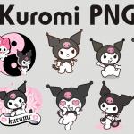 Imágenes de Kuromi PNG Clipart transparente