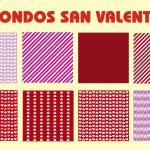 Fondos San Valentin Corazones