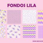 Fondos Lila – Papel Digital