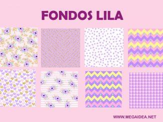 fondos lila
