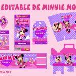 Kit Editable de Minnie Mouse en Powerpoint Gratis