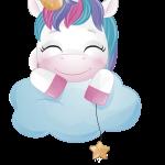 unicornio clipart 1