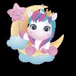 unicornio clipart 2