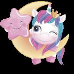 unicornio clipart 3